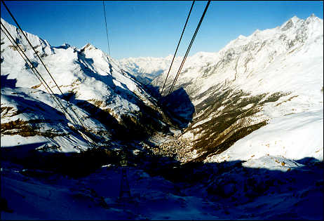 From the Trochener Steg tram
